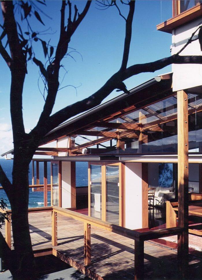 Architectural beach house