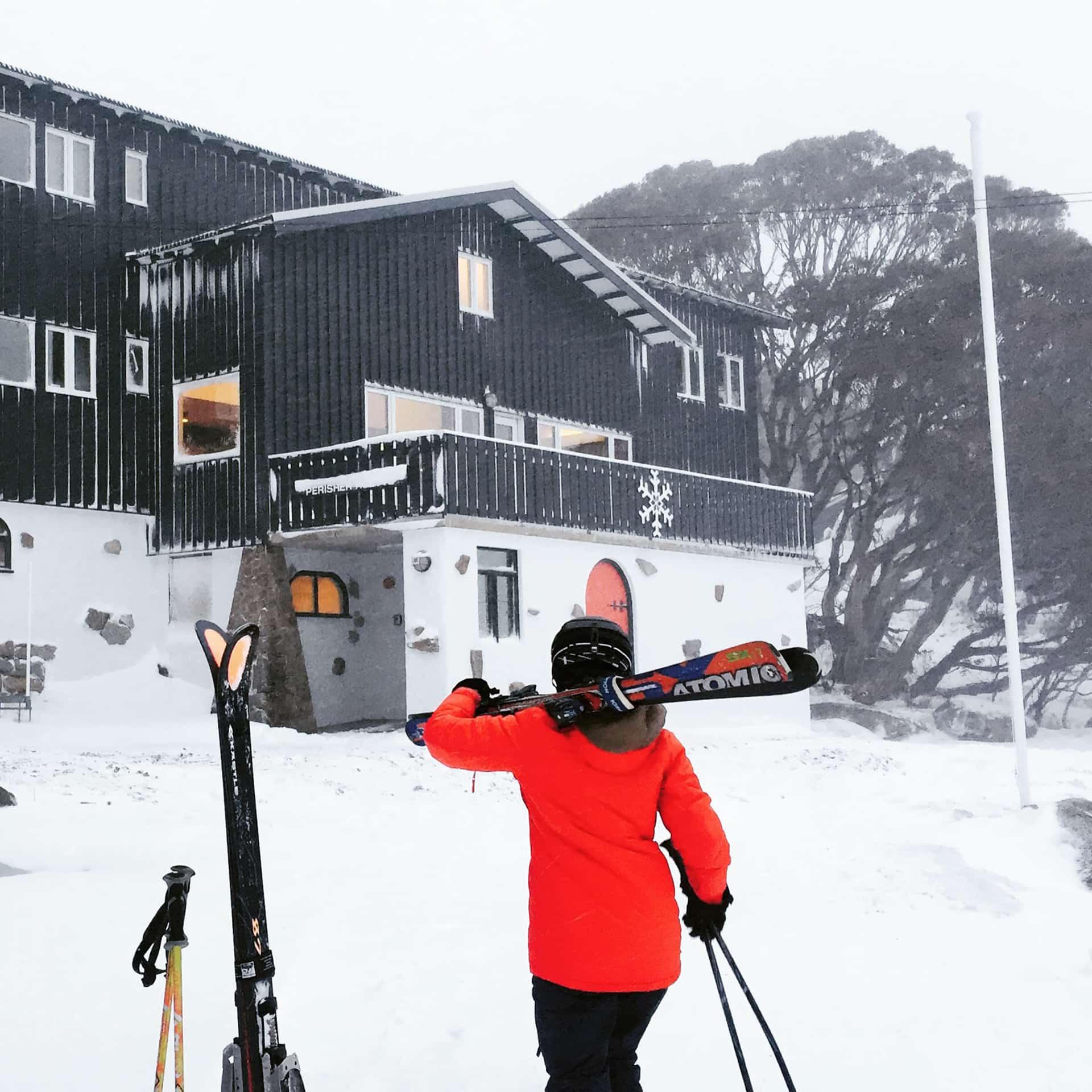 ski lodge renovation