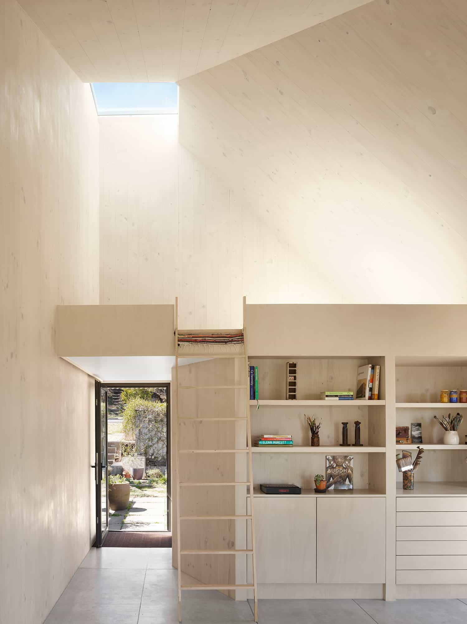 minimalist timber interiors