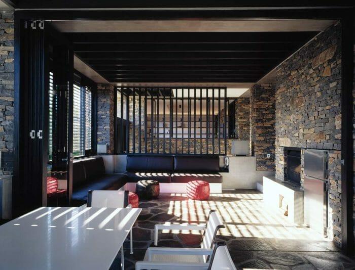 Mediterranean inspired interior design